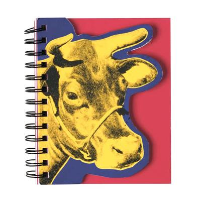 Andy Warhol Cow Layered Journal By Warhol, Andy (CON)